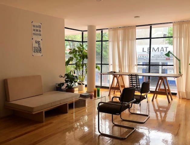 Private Room in Cute CDMX Apartment