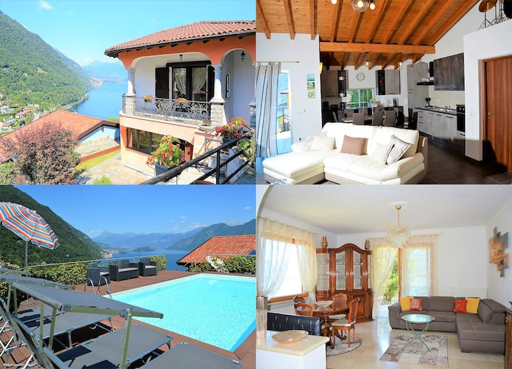 Lake Como, Lovely small residence Villa Rosa