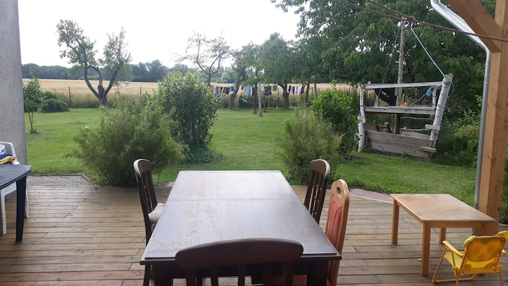 Privatzimmer mit paradiesischem Traumgarten