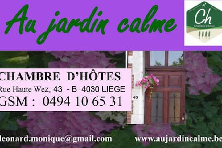 """Au jardin calme"" B&B"
