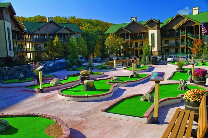 Two Bedroom Deluxe Luxury Condo, Smoky Mountains (A764)