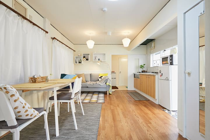 Pet OK☆3Bd Room at Shinjuku3Story House for 9PAX