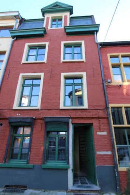 Abrahams House - Frontside