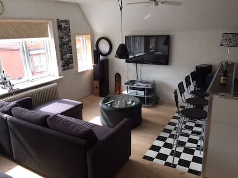 Double room in central Holstebro