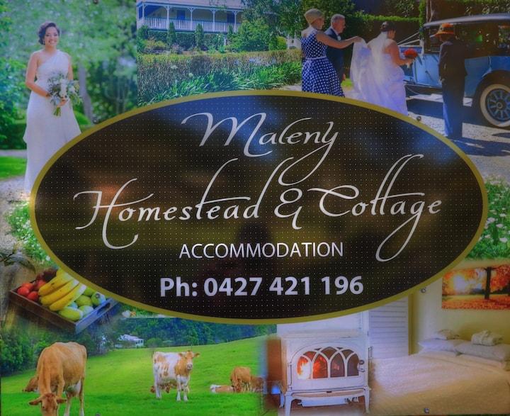 Maleny Homestead 5 bedroom Farmhouse rural setting