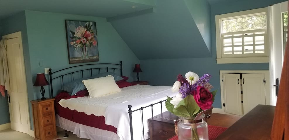 Master Suite in a 1850's Farmhouse