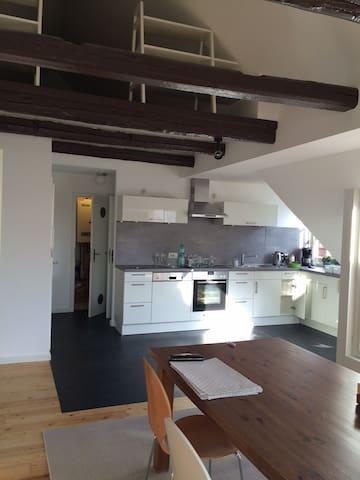Wunderschönes Loft mitten in der Altstadt von Leer - Leer (Ostfriesland) - Apartamento