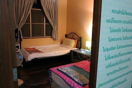 Quote Room= Twin bed in Thai house - Pha Sing