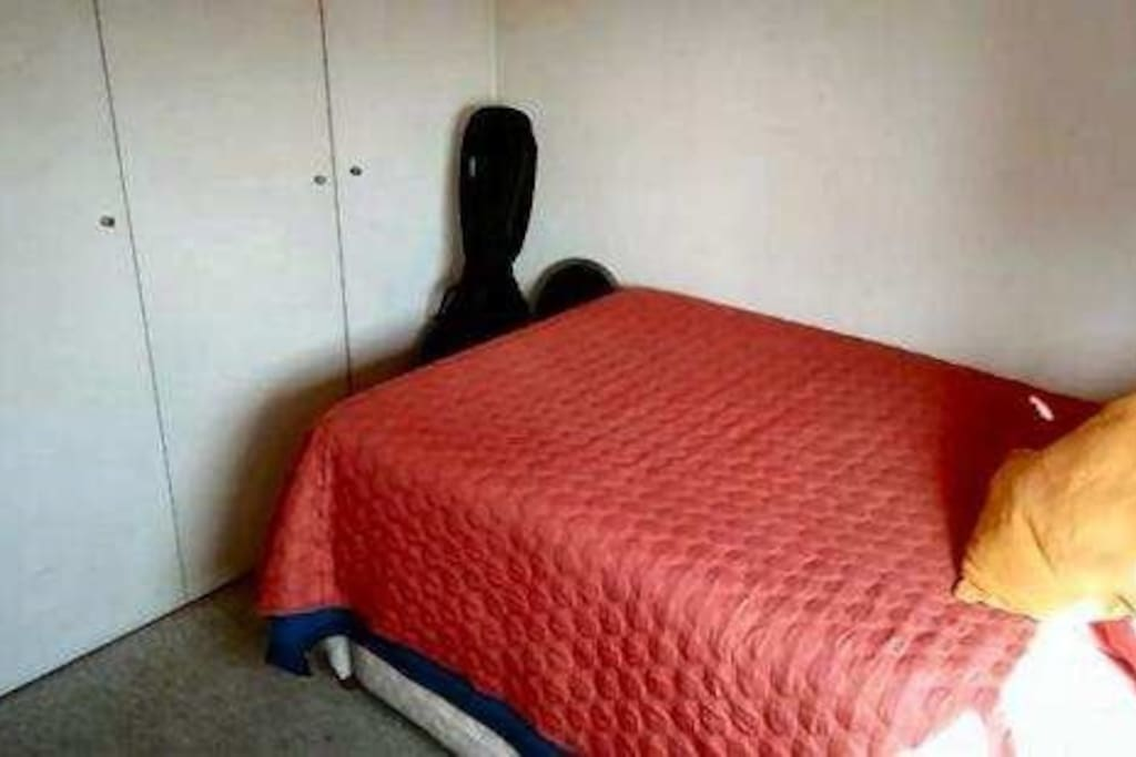 Cama nido, Amplio y acogedor dormitorio, puerta con llave, closet disponible y con baño en frente.
