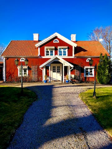 Beautiful residence in the Swedish country side