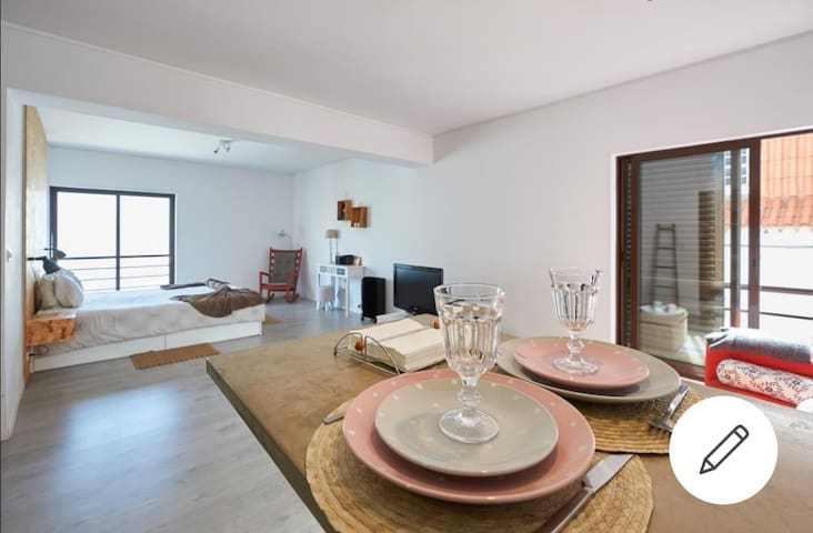 150m TO BEACH-Cosy Studio@Historic OldTown,Cascais