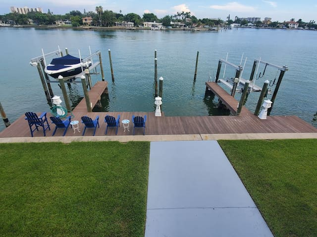 Boutique condo with boat slip and dock
