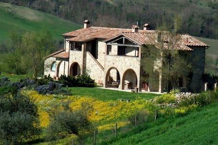 Olmo,confine tra Umbria,Toscana e.. - Fabro