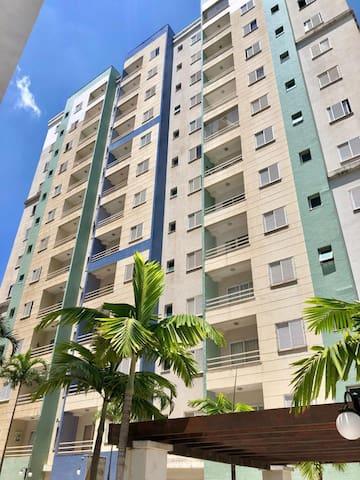 Apartamento 64m2 Mansões, Vista Privilegiada