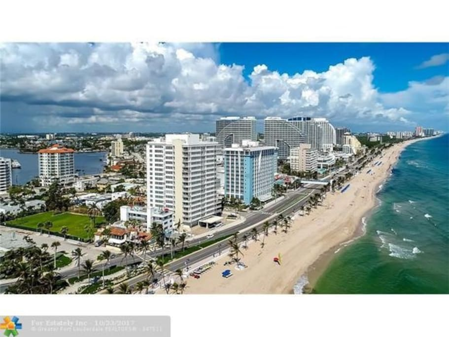 Newly Renovated Peaceful 2 Bedroom Beach Gem Apartments For Rent In Fort Lauderdale Florida