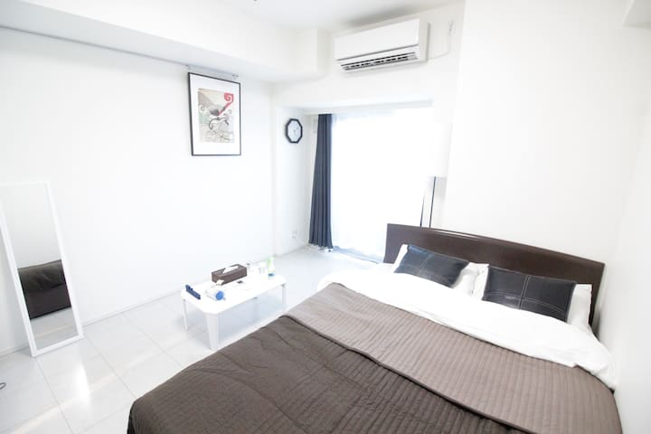 Simple Cozy Room in DT Shinjuku/Okubo Area♪ - Shinjuku-ku - Apartamento