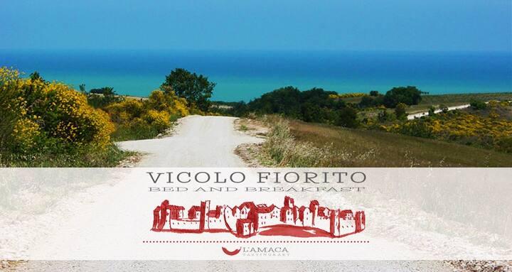 B&B Vicolo Fiorito - Camera Azzurra