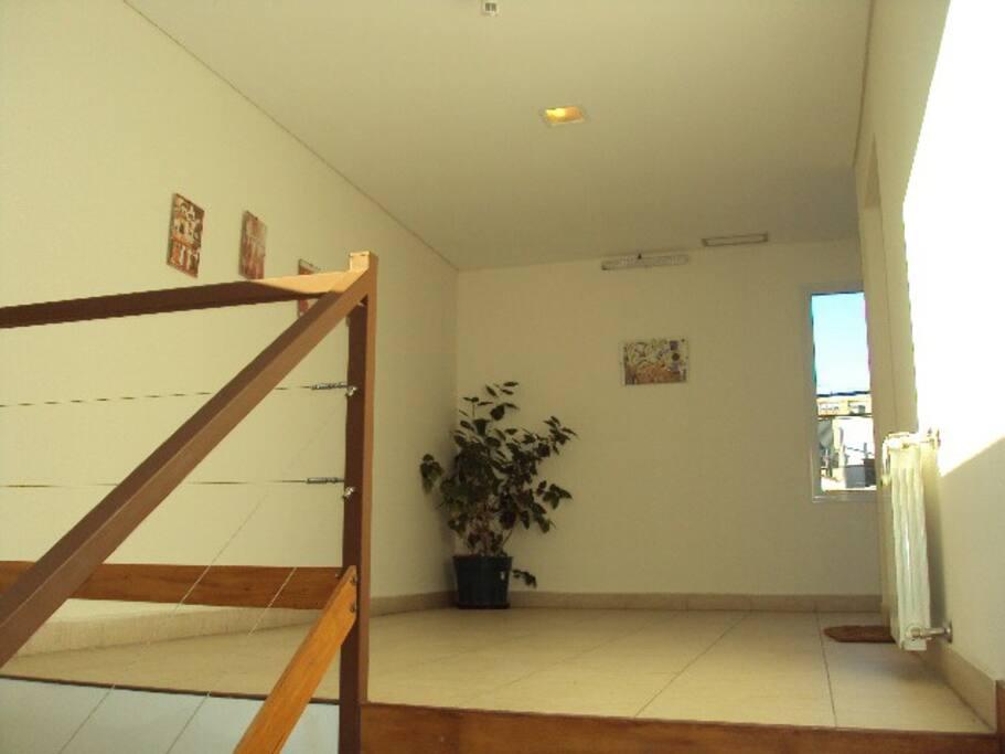 Hall privado de los apartamentos