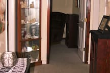 Upstairs Hallway 3 Bedrooms, 1 Full Bathroom, Large Extra Walk-In Closet, Separate A/C Unit