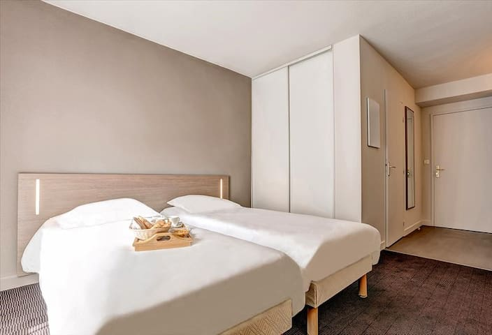 Studio twin 18 m² Strasbourg Centre ***