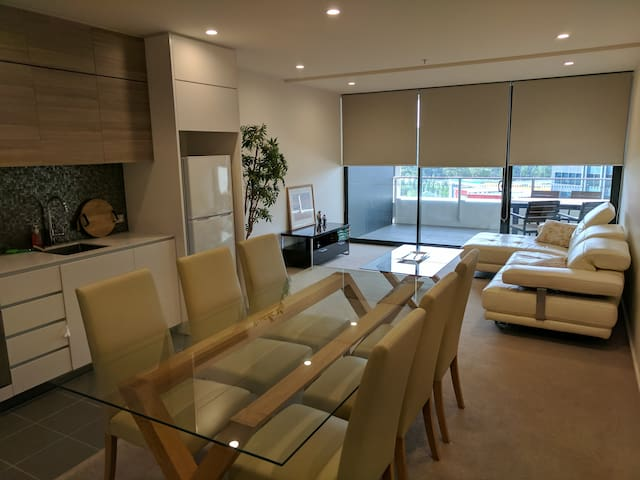 Brand new bright & spacious one bedroom in Civic - Canberra - Appartement