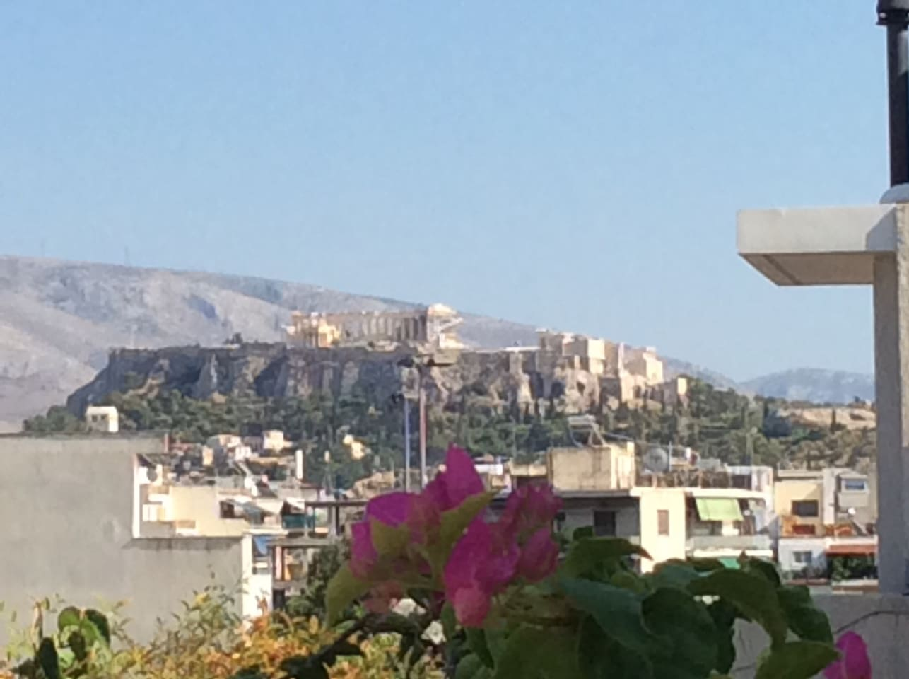 View to Acropolis