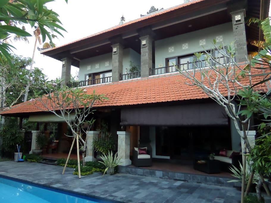 Modern Balinese style villa