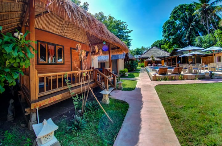 H2O Yoga Resort- Shared bungalow 2