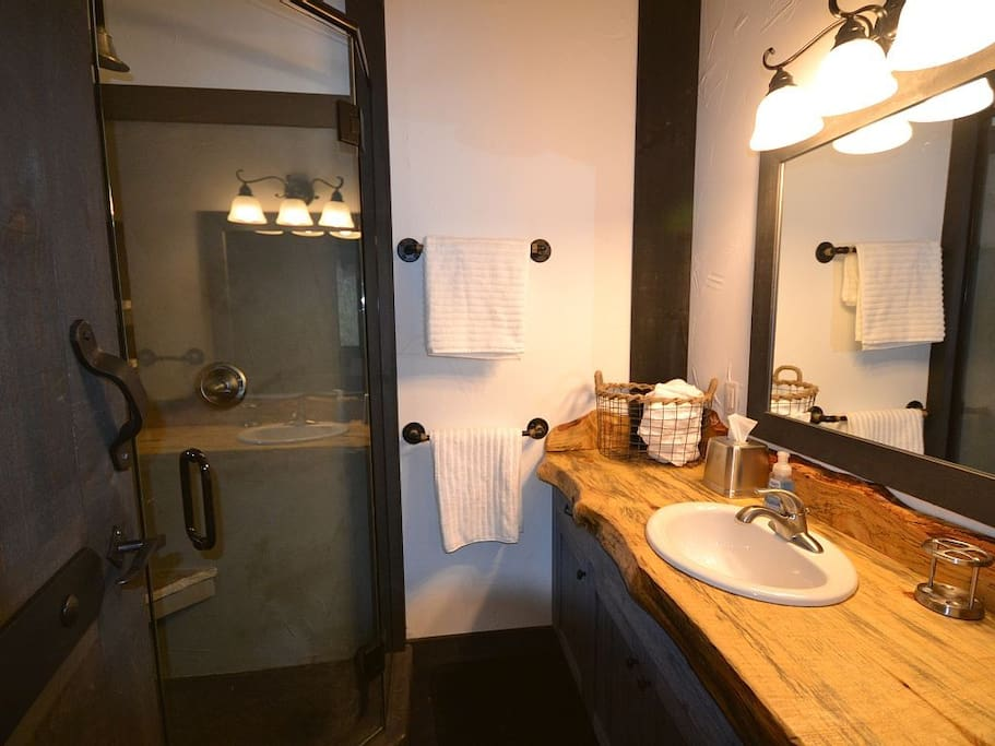Your private bathroom!