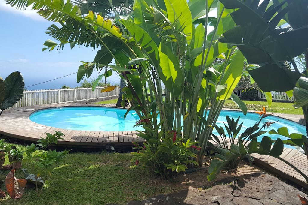 Accès piscine possible