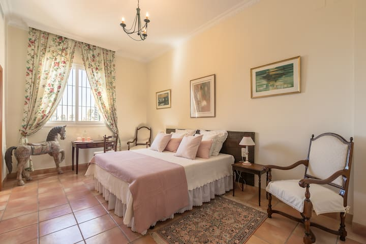 1 Double Room in Andalusian Hacienda-Bed&Breakfast