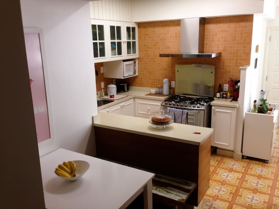 Kitchen fully equiped for your use