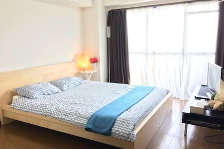 CITY VIEW QUEEN BED CableT.V Wifi - Minato-ku