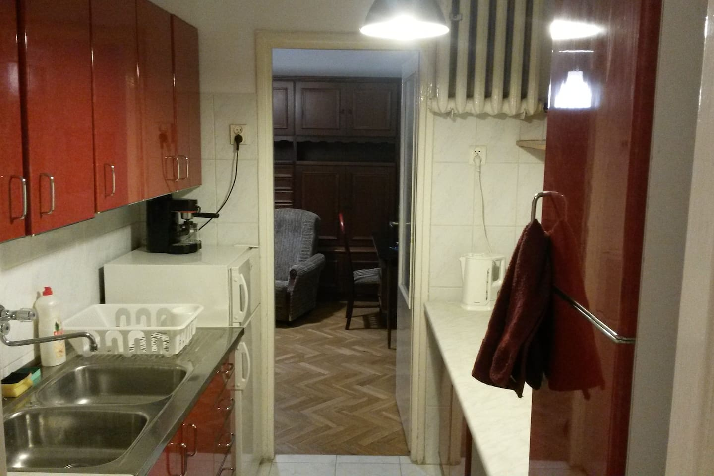 Welcome to a typical PRL(communist time Poland) flat in a block of flats in the centre of Lodz!