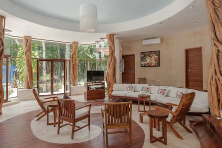 A TOTAL DIFFERENT EXPERIENCE ECO LUXURY IN  JUNGLE - Chemuyil - House - 2