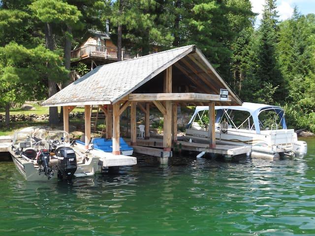 Chalet LE HUARD au Lac des 31 Milles