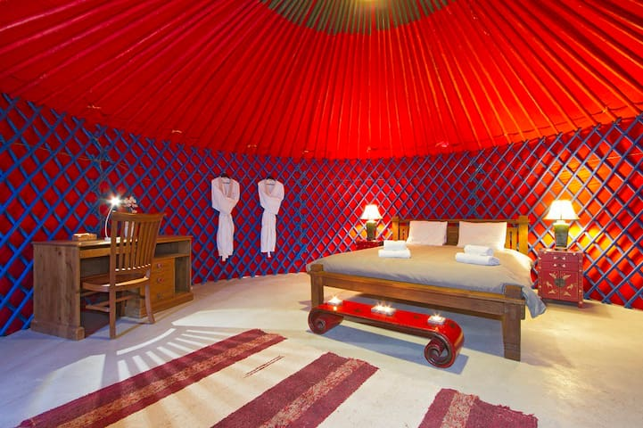 Luxury Beach Yurt Pod 1