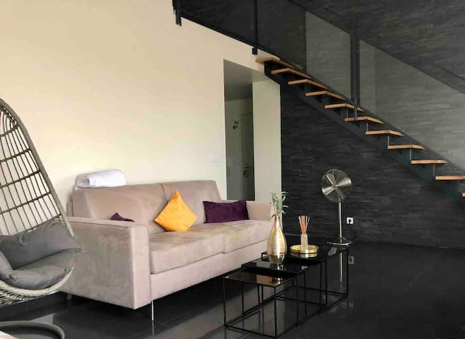 Duplex design 5***** 30 min from Paris