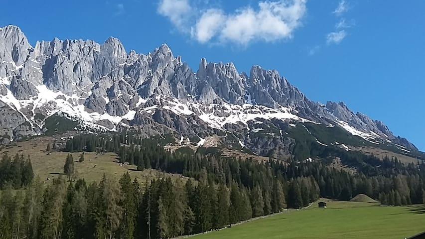 Great location in the Austrian Alps - Mühlbach am Hochkönig - Apartemen