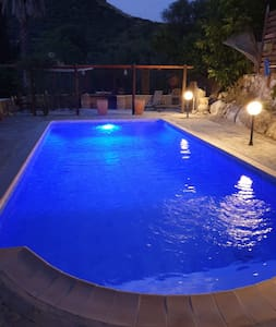 Spacious, peaceful apartment with private pool
