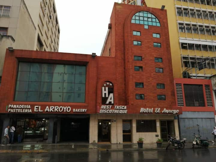 Hotel located in Caracas' city center