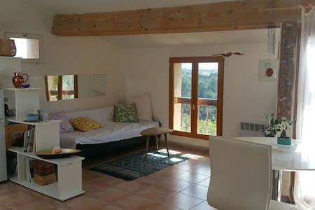 Eco appartement in nature - Saint-Marc-Jaumegarde