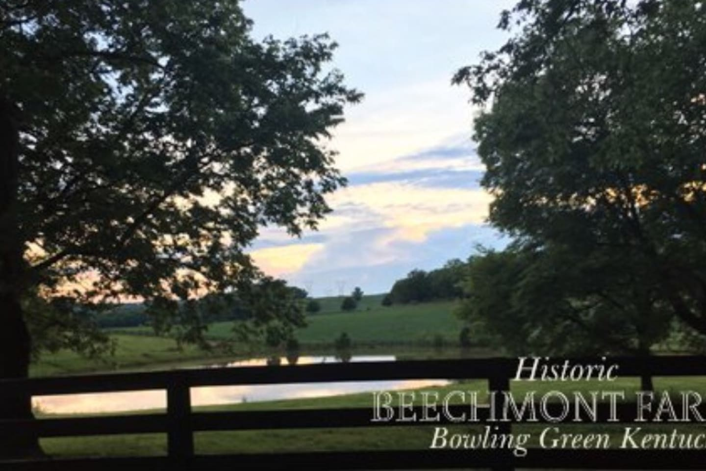 Historic Beechmont Farm is excited to have visitors!