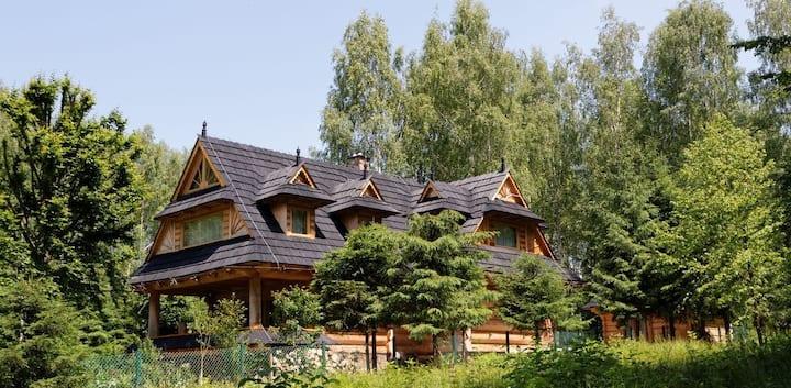 Willa Na Werlasowym Żbyrze nad Jeziorem Solińskim