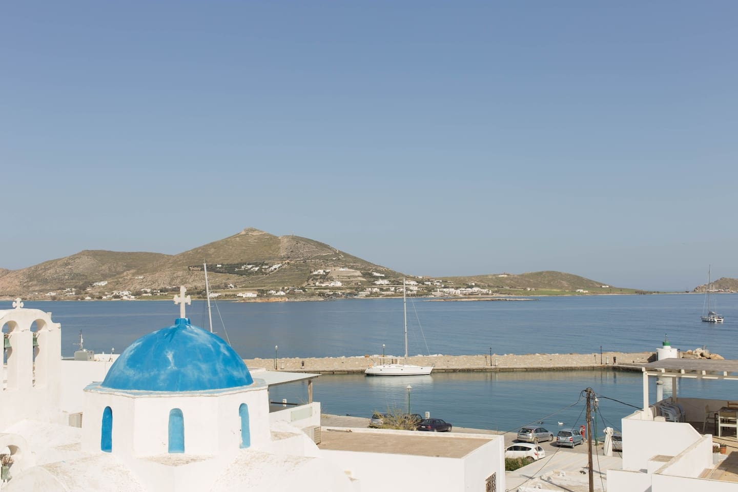 View from the pension