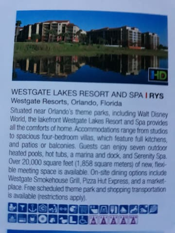 Westgate lakes resorts and spa