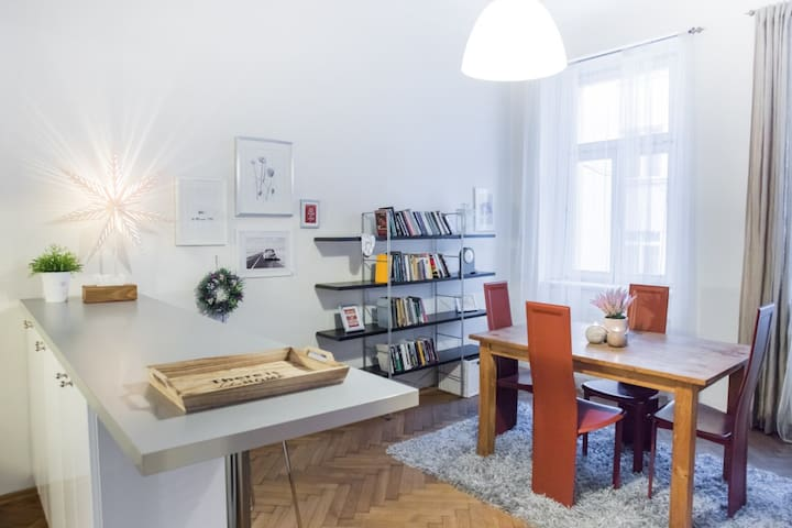 Apartment by the Wenceslav Square