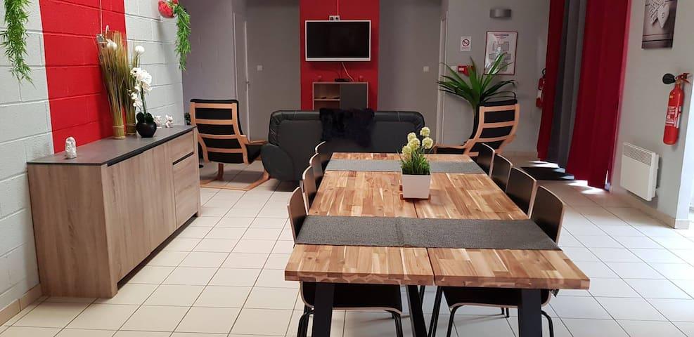 Gîte de 19 personnes