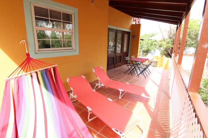 Unique Tropical Apt with Terrace Nr Mambo Beach