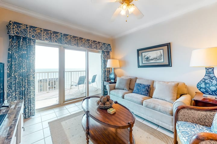 Bright & Breezy Condo w/ a Gulf View, Free WiFi, Shared Pools, & Beach Access